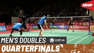 【Video】Mohammad AHSAN・Hendra SETIAWAN VS LEE Yang・WANG Chi-Lin, tứ kết DAIHATSU Indonesia Masters 2020