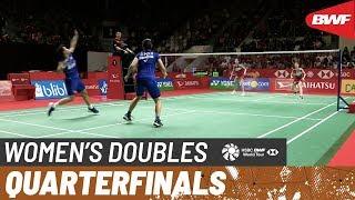 【Video】Greysia POLII・Apriyani RAHAYU VS Nami MATSUYAMA・Chiharu SHIDA, tứ kết DAIHATSU Indonesia Masters 2020