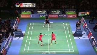 【Video】ZHANG Nan VS Joachim FISCHER NIELSEN, khác Yonex Open Japan