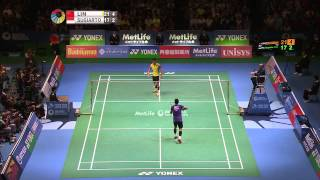 【Video】LIN Dan VS Tommy SUGIARTO, bán kết Yonex Open Japan