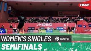 【Video】Carolina MARIN VS Supanida KATETHONG, bán kết Barcelona Tây Ban Nha 2020