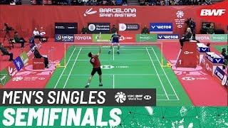 【Video】Viktor AXELSEN VS Daren LIEW, bán kết Barcelona Tây Ban Nha 2020