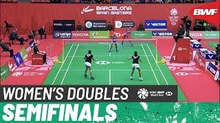 【Video】Gabriela STOEVA・Stefani STOEVA VS Jongkolphan KITITHARAKUL・Rawinda PRAJONGJAI, bán kết Barcelona Tây Ban Nha 2020