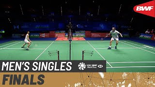 【Video】CHOU Tien Chen VS Viktor AXELSEN, chung kết YONEX All England Open 2020