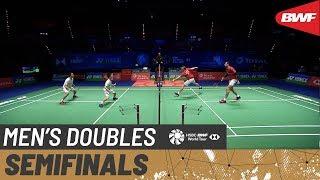 【Video】Hiroyuki ENDO・Yuta WATANABE VS Vladimir IVANOV・Ivan SOZONOV, bán kết YONEX All England Open 2020
