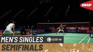 【Video】CHOU Tien Chen VS Anders ANTONSEN, bán kết YONEX All England Open 2020