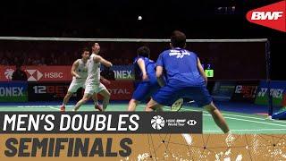 【Video】Marcus Fernaldi GIDEON・Kevin Sanjaya SUKAMULJO VS LEE Yang・WANG Chi-Lin, bán kết YONEX All England Open 2020