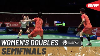 【Video】DU Yue・LI Yinhui VS LEE So Hee・SHIN Seung Chan, bán kết YONEX All England Open 2020