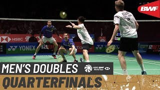 【Video】Vladimir IVANOV・Ivan SOZONOV VS Marcus ELLIS・Chris LANGRIDGE, tứ kết YONEX All England Open 2020