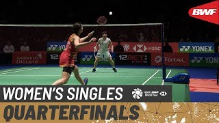 【Video】Carolina MARIN VS Akane YAMAGUCHI, tứ kết YONEX All England Open 2020