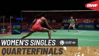 【Video】Nozomi OKUHARA VS PUSARLA V. Sindhu, tứ kết YONEX All England Open 2020