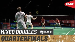 【Video】Marcus ELLIS・Lauren SMITH VS TANG Chun Man・TSE Ying Suet, tứ kết YONEX All England Open 2020
