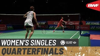 【Video】CHEN Yufei VS Ratchanok INTANON, tứ kết YONEX All England Open 2020