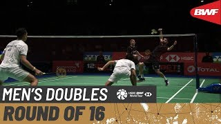 【Video】Marcus ELLIS・Chris LANGRIDGE VS Fajar ALFIAN・Muhammad Rian ARDIANTO, vòng 16 YONEX All England Open 2020