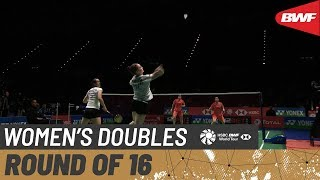【Video】CHEN Qingchen・JIA Yifan VS Chloe BIRCH・Lauren SMITH, vòng 16 YONEX All England Open 2020