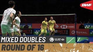 【Video】TANG Chun Man・TSE Ying Suet VS Rinov RIVALDY・Pitha Haningtyas MENTARI, vòng 16 YONEX All England Open 2020