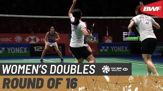 【Video】KIM So Yeong・KONG Hee Yong VS Jongkolphan KITITHARAKUL・Rawinda PRAJONGJAI, vòng 16 YONEX All England Open 2020