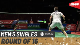 【Video】Lakshya SEN VS Viktor AXELSEN, vòng 16 YONEX All England Open 2020