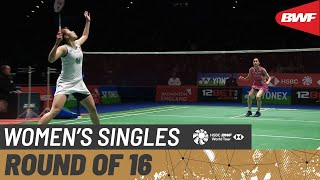 【Video】Ratchanok INTANON VS Aya OHORI, vòng 16 YONEX All England Open 2020