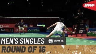 【Video】CHOU Tien Chen VS Kanta TSUNEYAMA, vòng 16 YONEX All England Open 2020