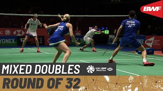 【Video】Hafiz FAIZAL・Gloria Emanuelle WIDJAJA VS Chris ADCOCK・Gabrielle ADCOCK, vòng 32 YONEX All England Open 2020