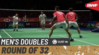 【Video】Hiroyuki ENDO・Yuta WATANABE VS Ben LANE・Sean VENDY, vòng 32 YONEX All England Open 2020