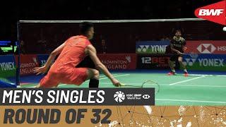 【Video】KIDAMBI Srikanth VS CHEN Long, vòng 32 YONEX All England Open 2020
