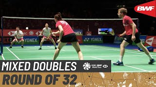【Video】Marcus ELLIS・Lauren SMITH VS Takuro HOKI・Wakana NAGAHARA, vòng 32 YONEX All England Open 2020