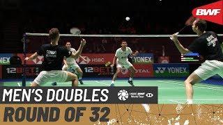 【Video】Fajar ALFIAN・Muhammad Rian ARDIANTO VS Mathias BOE・Mads CONRAD-PETERSEN, vòng 32 YONEX All England Open 2020