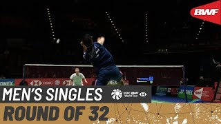 【Video】NG Ka Long Angus VS Kenta NISHIMOTO, vòng 32 YONEX All England Open 2020