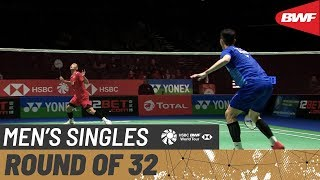 【Video】LEE Zii Jia VS Jonatan CHRISTIE, vòng 32 YONEX All England Open 2020