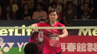 【Video】Hiroyuki ENDO VS KIM Gi Jung, khác Yonex Open Japan