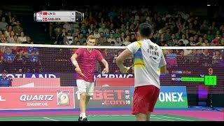 【Video】LIN Dan VS Viktor AXELSEN, chung kết TỔNG BWF Giải vô địch thế giới 2017