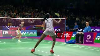 【Video】PUSARLA V. Sindhu VS CHEN Yufei, bán kết TỔNG BWF Giải vô địch thế giới 2017