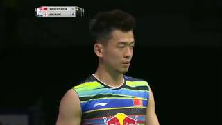 【Video】ZHENG Siwei・CHEN Qingchen VS Chris ADCOCK・Gabrielle ADCOCK, bán kết TỔNG BWF Giải vô địch thế giới 2017