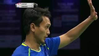 【Video】Mohammad AHSAN・Rian Agung SAPUTRO VS Takeshi KAMURA・Keigo SONODA, bán kết TỔNG BWF Giải vô địch thế giới 2017