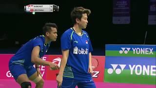 【Video】Tontowi AHMAD・Liliyana NATSIR VS LEE Chun Hei Reginald・CHAU Hoi Wah, bán kết TỔNG BWF Giải vô địch thế giới 2017