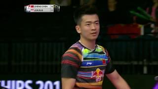 【Video】ZHENG Siwei・CHEN Qingchen VS Praveen JORDAN・Debby SUSANTO, tứ kết TỔNG BWF Giải vô địch thế giới 2017