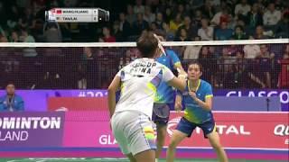 【Video】WANG Yilyu・HUANG Dongping VS TAN Kian Meng・LAI Pei Jing, vòng 16 TỔNG BWF Giải vô địch thế giới 2017