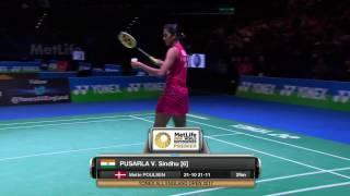 【Video】PUSARLA V. Sindhu VS Dinar Dyah AYUSTINE, vòng 16 YONEX Toàn Anh Mở Rộng