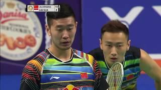 【Video】LIU Cheng・ZHANG Nan VS Marcus Fernaldi GIDEON・Kevin Sanjaya SUKAMULJO, chung kết DANISA Đan Mạch mở