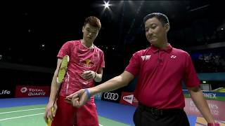 【Video】TANG Chun Man/TSE Ying Suet VS WANG Yilyu/HUANG Dongping, bán kết Vòng chung kết World Superseries ở Dubai World 2017