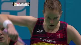 【Video】Kamilla Rytter JUHL/Christinna PEDERSEN VS HSU Ya Ching/WU Ti Jung, khác Vòng chung kết World Superseries ở Dubai World 2