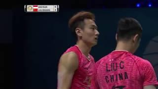 【Video】Marcus Fernaldi GIDEON/Kevin Sanjaya SUKAMULJO VS LIU Cheng/ZHANG Nan, chung kết Vòng chung kết World Superseries ở Dubai