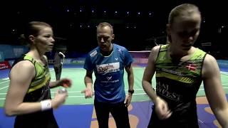 【Video】Kamilla Rytter JUHL/Christinna PEDERSEN VS JUNG Kyung Eun/SHIN Seung Chan, khác Vòng chung kết World Superseries ở Dubai
