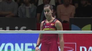 【Video】HE Bingjiao VS Carolina MARIN, chung kết DAIHATSU YONEX Japan Open
