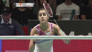 【Video】Carolina MARIN VS Akane YAMAGUCHI, tứ kết DAIHATSU YONEX Japan Open