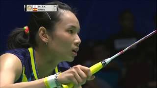 【Video】TAI Tzu Ying VS Carolina MARIN, chung kết CELCOM AXIATA Malaysia Open
