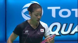 【Video】Nozomi OKUHARA VS Carolina MARIN, bán kết CELCOM AXIATA Malaysia Open