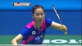 【Video】HUANG Yaqiong/TANG Jinhua VS CHANG Ye Na/LEE So Hee, bán kết CELCOM AXIATA Malaysia Open